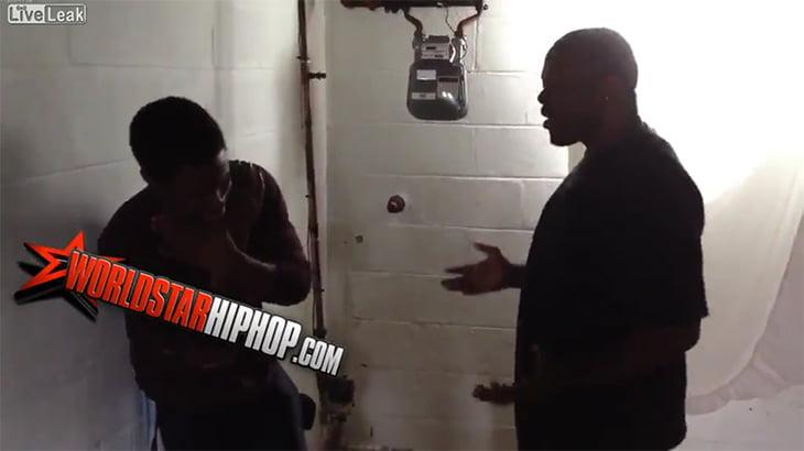 PS3を盗んだ少年、屈強な黒人にフルボッコにされてしまう動画。