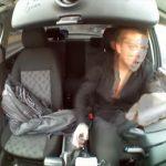麻薬中毒者が大声を上げながら運転する様子が怖すぎる・・・。