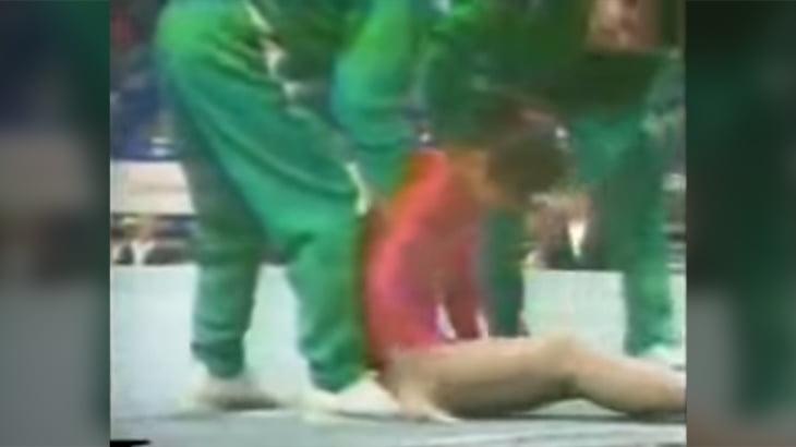 体操選手が着地に失敗し5日後に脳動脈解離で死亡。