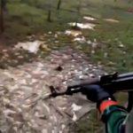 インドネシアの軍事キャンプ。一歩間違えば死んでしまいそうな訓練動画。