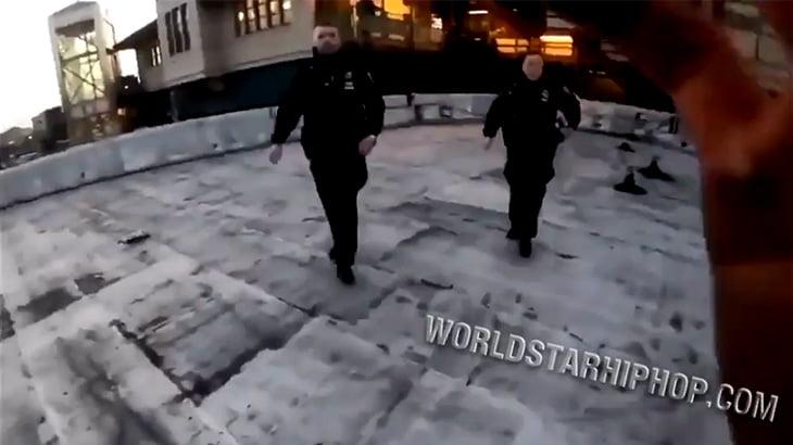 パルクールができると警察官から逃げやすいことが判明。