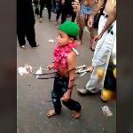 イスラム教、小さな男の子をとんでもない姿にしてしまう・・・。