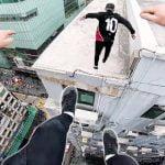 【衝撃映像】パルクールの一人称視点GoPro映像、怖すぎ・・・。