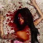 【閲覧注意】ギャングの女、ライバルギャングの男に撃ち殺されてしまうグロ動画。
