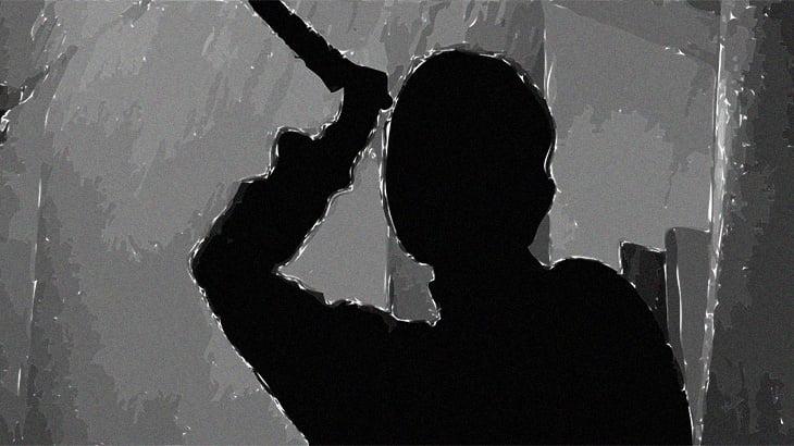 """【超!閲覧注意】ホームレスをつぎつぎ刺し殺す """"本物のスナッフビデオ(殺人ビデオ)""""。"""