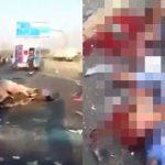 【閲覧注意】13人の作業員が死亡した現場を撮影したグロ動画・・・。