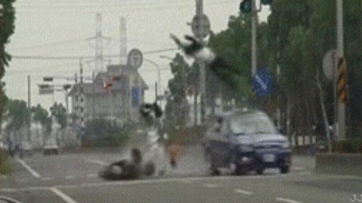 【閲覧注意】致命的な事故を撮影したGIF画像集。
