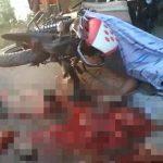 【超!閲覧注意】このバイク事故、身体グチャグチャ・・・。
