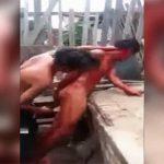 【閲覧注意】レイプ犯の男、「肛門に棒を突き刺す刑」に処されてしまう。