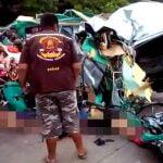 【閲覧注意】12人が死亡した事故。凄惨な現場を撮影したグロ動画。