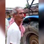 【閲覧注意】トラクターの車輪に巻き込まれて死亡した男性。