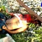 【閲覧注意】インドのTV、列車に轢かれて自殺した男性の死体をモザイク無しで流してしまう・・・。