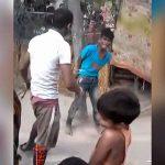 米を盗んだ男の子、鞭打ちの刑に・・・。