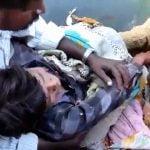 【閲覧注意】収穫機に脚を挟まれ左足を失ってしまった男の子のグロ動画。