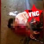 【閲覧注意】車に轢かれたこの男性、もうすぐ死ぬ・・・。