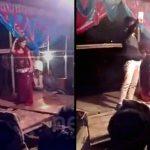 【衝撃映像】結婚式の余興で踊る女性、顔面を撃たれてしまう・・・。