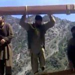 【閲覧注意】3人の男が絞首刑にされる処刑映像。