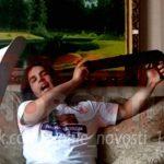 【超!閲覧注意】ライブ配信中にショットガン自殺した男の顔、吹き飛ばされる・・・。