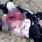 【閲覧注意】自爆テロ犯の女性、腹が破裂して死亡したグロ動画。