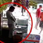 【衝撃映像】店内のレイアウトを調整していた店主、感電死・・・。