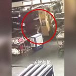 工場でのアクシデント。機械に押しつぶされて死亡した女性作業員。