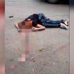 【閲覧注意】バイク事故の男性、頭割れて脳が飛び出したグロ動画。