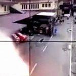 【閲覧注意】爆破テロに巻き込まれて死亡した男性、身体のパーツが飛び散ってる・・・。
