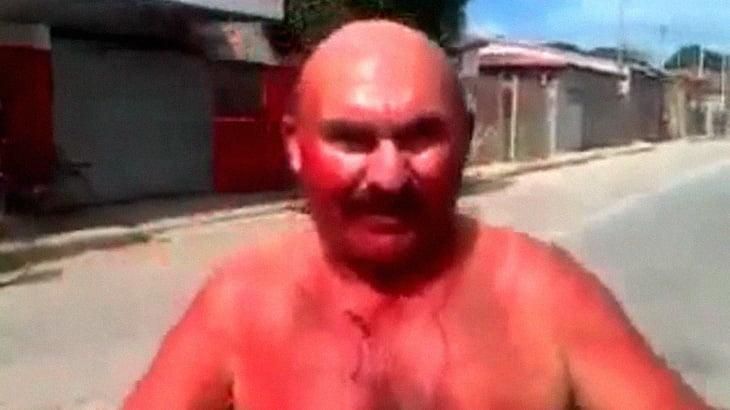 【閲覧注意】全裸の男、自分のペ●スを切断して踊るイカれた光景。