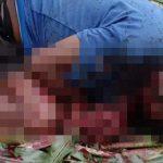 【閲覧注意】マチェーテで身体をズタズタにされて死亡した男性のグロ動画。