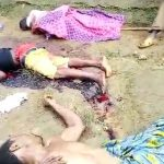 【閲覧注意】一家惨殺された現場を撮影したグロ動画。