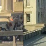 【衝撃映像】ロンドン橋の襲撃犯が警察官に射殺される瞬間。
