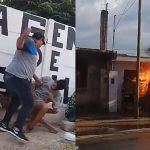 ギャングを殴った男、報復として自宅を燃やされてしまう・・・。