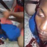 【閲覧注意】泥棒の男、マチェーテで首を切られて殺されてしまう・・・。