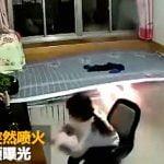 【中国】ベッドが爆発・・・。