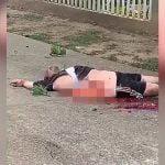 【閲覧注意】飛び降り自殺した男性、腸が飛び出して死亡したグロ動画。