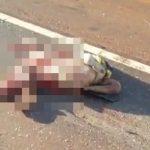 【超!閲覧注意】車に轢かれた人間の身体、グチャグチャすぎる・・・。
