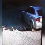 駐車場で昼寝していた男、バックしてきた車に頭を踏まれてしまう・・・。