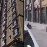 【閲覧注意】飛び降り自殺の瞬間。