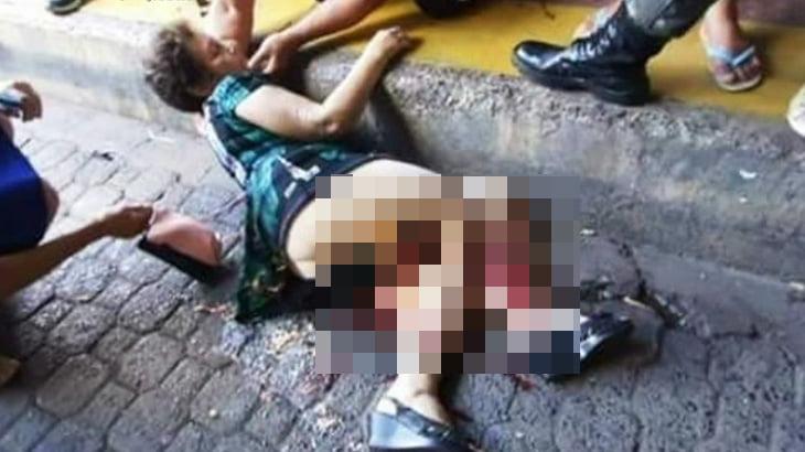 【閲覧注意】動き出したバスに乗り込もうとした女、轢かれて両足ぐちゃぐちゃに・・・。