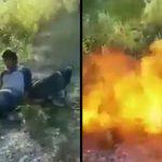 【衝撃映像】メキシコの麻薬カルテルメンバー、生きたまま燃やされて殺されてしまう・・・。
