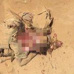 【閲覧注意】ヘッドショットされて死亡した兵士の頭、破裂してしまったグロ動画・・・。