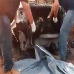 【閲覧注意】燃えた車のトランクから何故か焼け焦げた人間の死体が・・・。