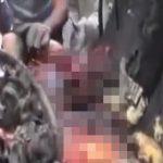 【超!閲覧注意】自動車爆弾で自爆テロした人間の身体、ぐっちゃぐちゃ・・・。