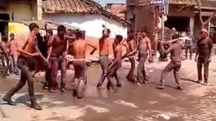路上で楽しそうにダンスを踊る男たちの予想外な展開・・・。