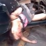 【閲覧注意】10代のカップル、トラックと衝突して変わり果てた姿となって死亡・・・。