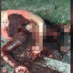 サイコパスの男と付き合ってしまった女、頭をショットガンで破壊されてしまう・・・。