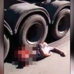 【閲覧注意】交通事故現場を撮影した結果、ヤバすぎるグロ動画撮れた・・・。