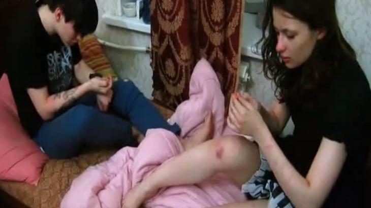 もう元には戻れないドラッグ漬けの日々を送る10代の少年少女 in ロシア。