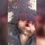 【閲覧注意】戦地にて頭を吹き飛ばされて死んだ男のグロ動画。