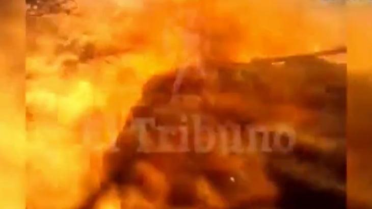 【衝撃映像】森林火災の消火活動中に死亡した消防士のボディカム映像が怖すぎる・・・。